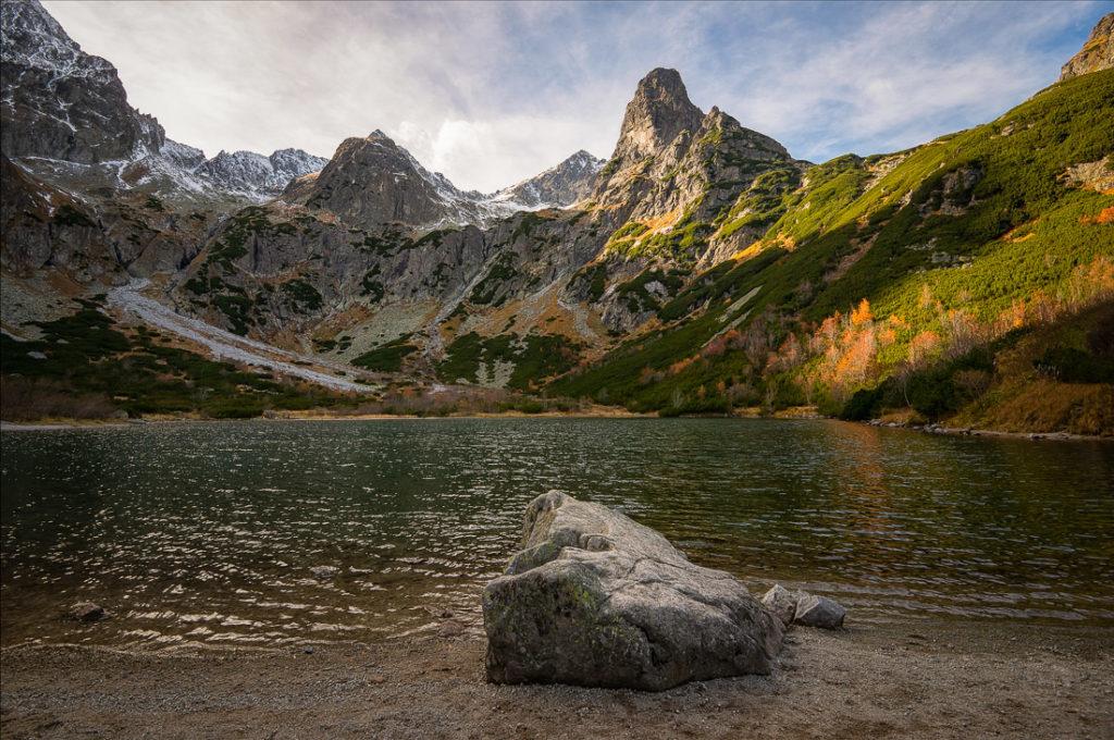 The lake Zelené Pleso